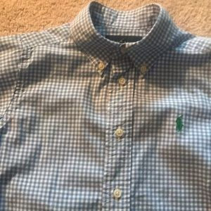 Ralph Lauren Polo Button Down Plaid Shirt